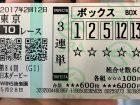 GIレース日本ダービーの馬券の画像